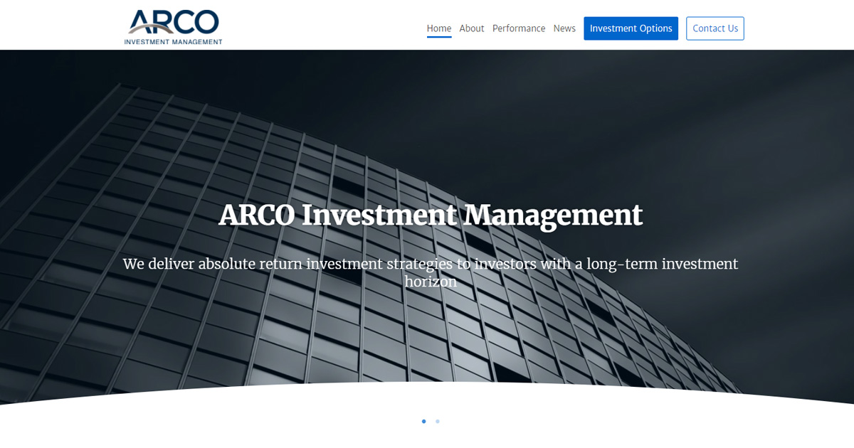 About Arco Investment Management
